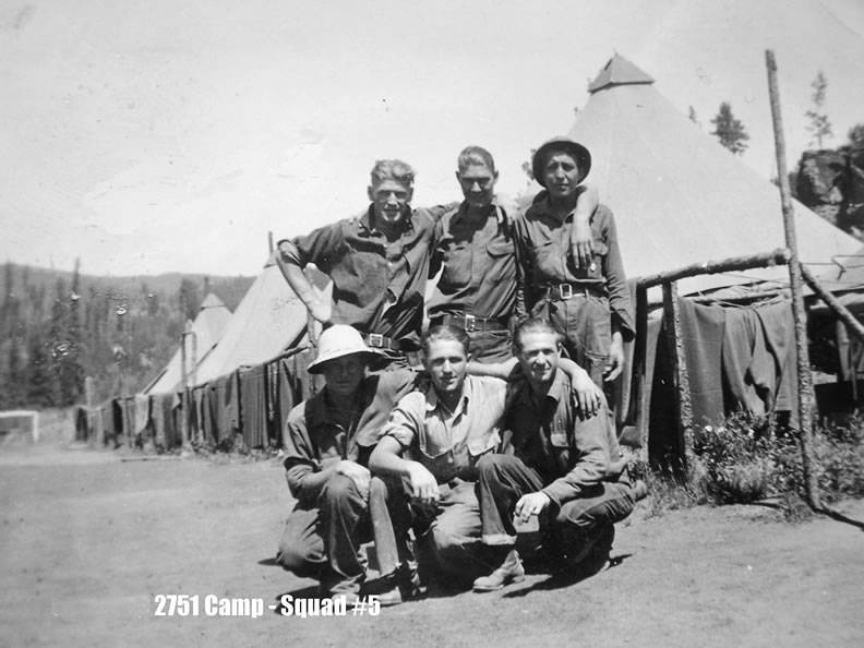 Men of Camp Oreville
