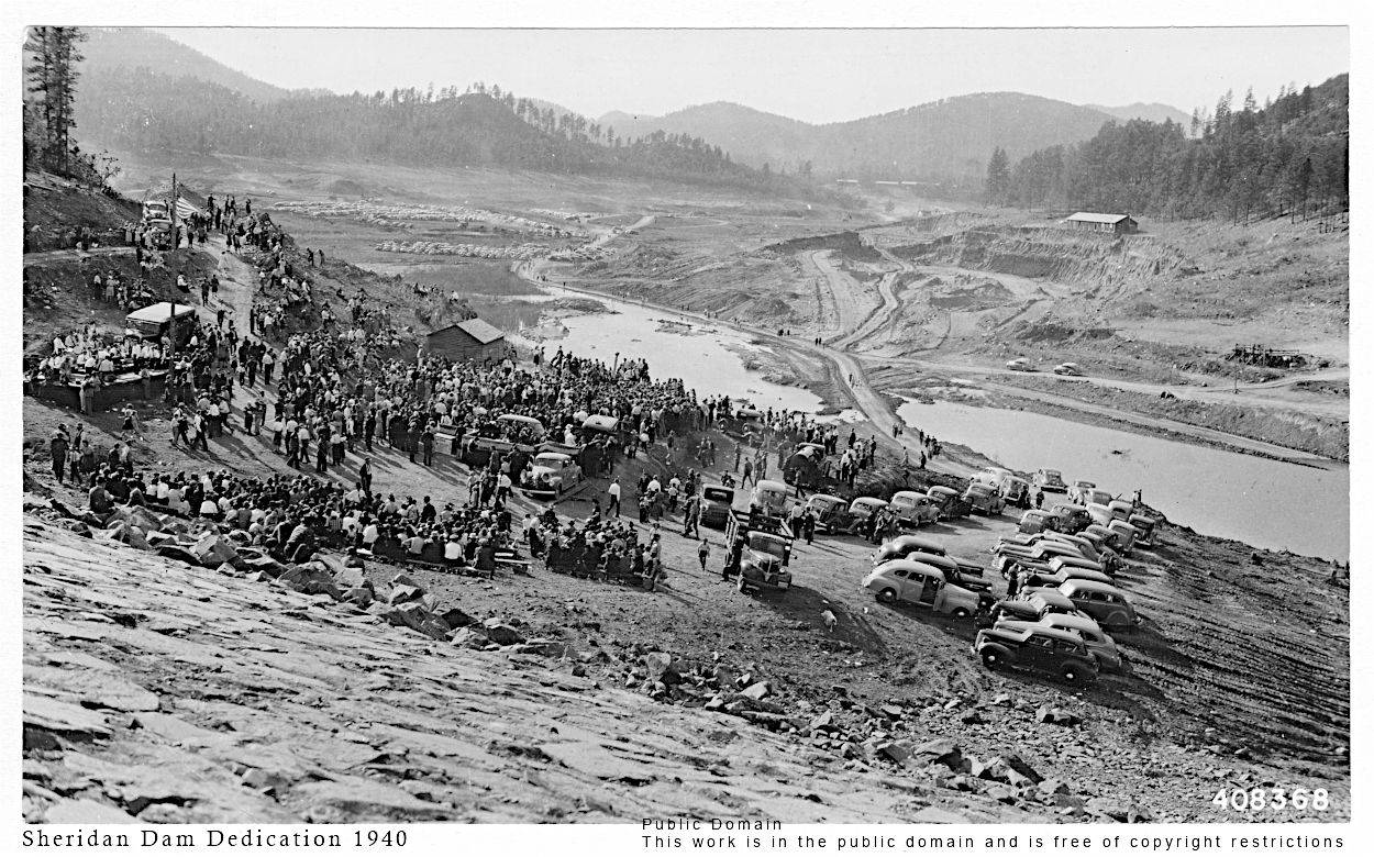 Sheridan Dam Dedication 1940