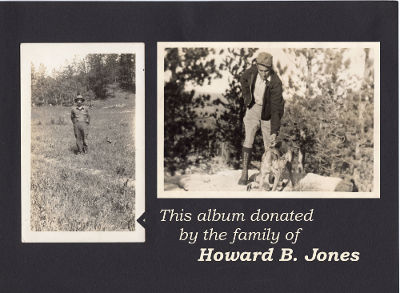 Howard B. Jones Scapbook