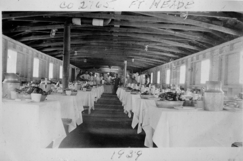 CCC Camp Mess Hall