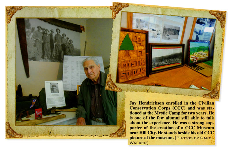 Jay Hendrickson and Museum Display