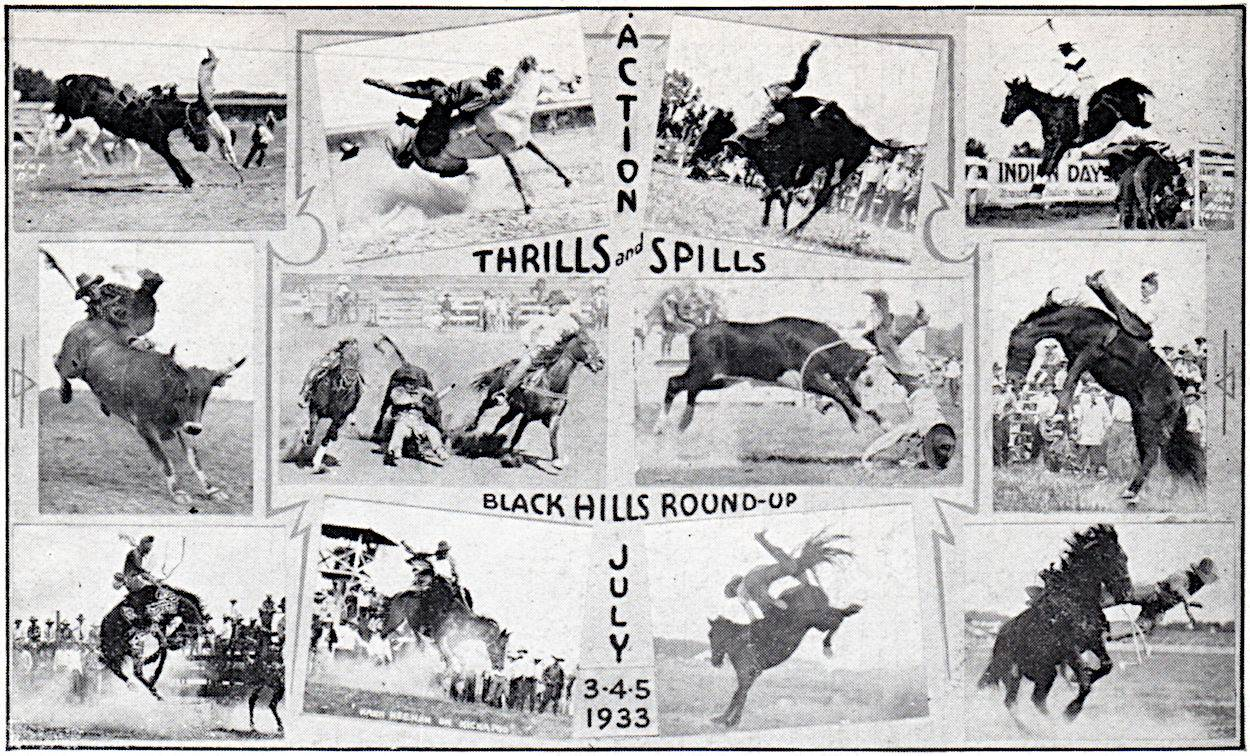 1933 Black Hills Round-Up - Civilian Conservation Corps
