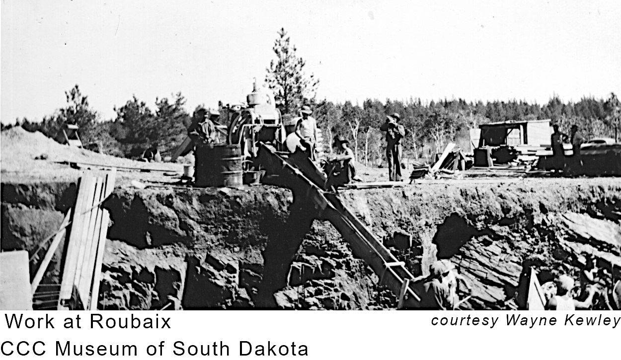 Roubaix Dam Construction