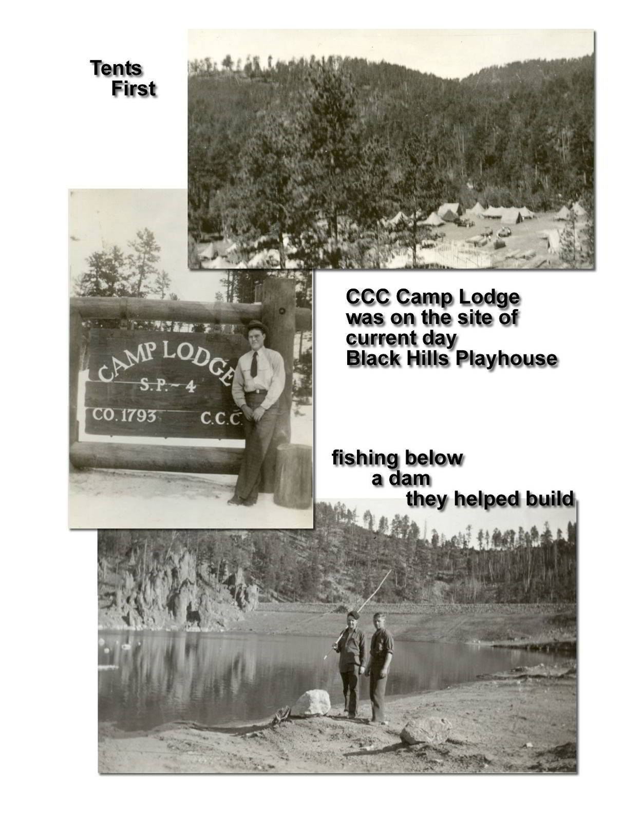 CCC Camp Lodge in Custer State Park